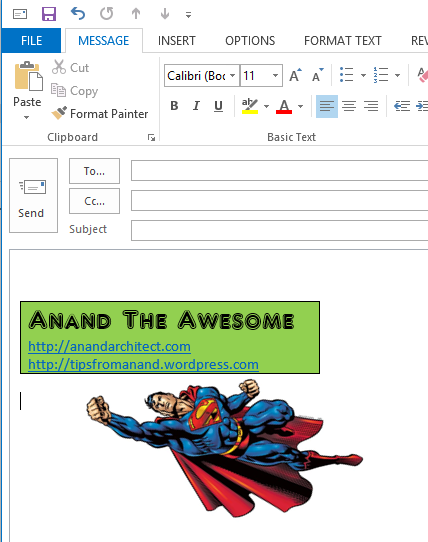 how to put a signature in word 2010